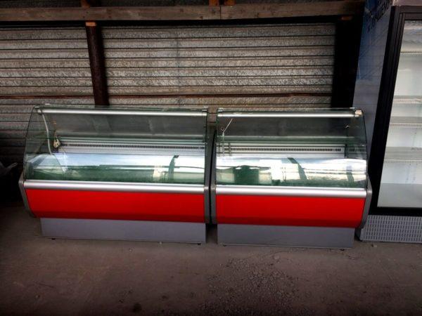холодильная витрина Полюс Эко 2…7 БУ спереди