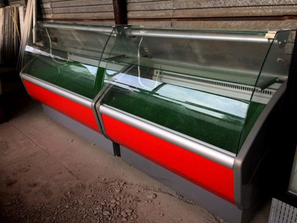 холодильная витрина Полюс Эко 2…7 БУ справа 2