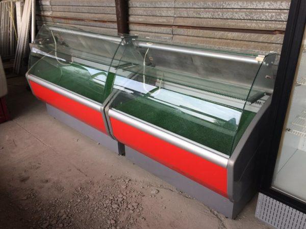холодильная витрина Полюс Эко 2…7 БУ справа