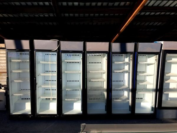 холодильный шкаф 5…5 Helkama БУ открытые