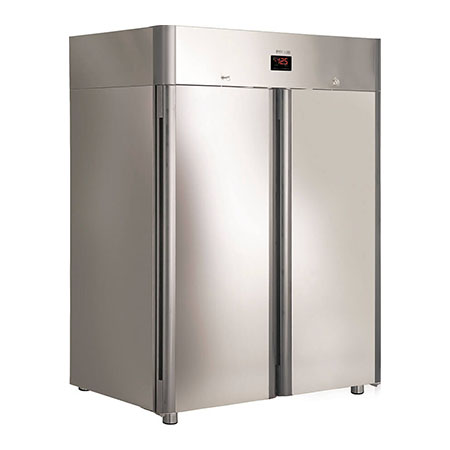 Polair холодильный шкаф из нержавеющей стали CВ114 Gm