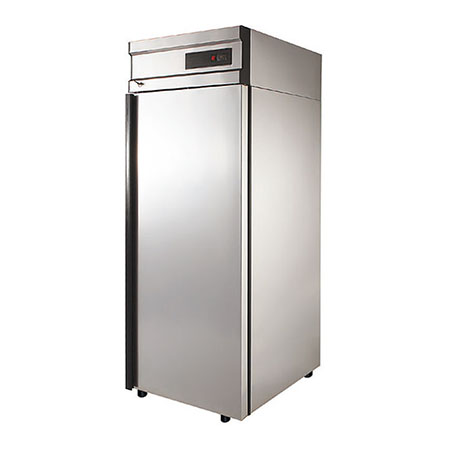 Polair холодильный шкаф из нержавеющей стали CV105 G
