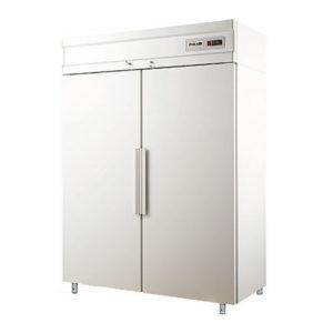 Polair холодильный шкаф с металлическими дверьми CB114 S