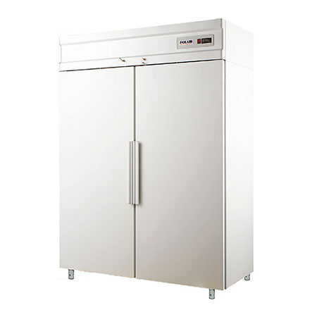 Polair холодильный шкаф с металлическими дверьми CV110 S
