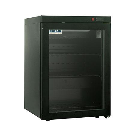 Polair холодильный шкаф cо стеклянными дверьми DM102 Bravo черный
