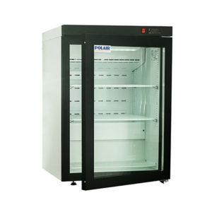Polair холодильный шкаф cо стеклянными дверьми DM102 Bravo