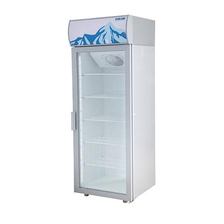 Polair холодильный шкаф cо стеклянными дверьми DM107 S версия 2.0