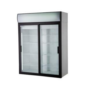 Polair холодильный шкаф cо стеклянными дверьми DM110Sd S
