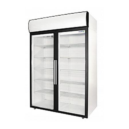 Polair холодильный шкаф cо стеклянными дверьми DM114 S
