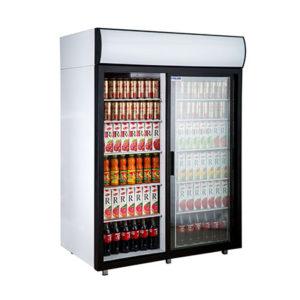 Polair холодильный шкаф cо стеклянными дверьми DM114Sd S версия 2.0