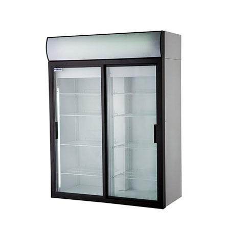Polair холодильный шкаф cо стеклянными дверьми DM114Sd S