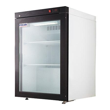 Polair холодильный шкаф cо стеклянными дверьми DP102 S