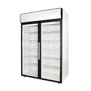 Polair холодильный шкаф cо стеклянными дверьми DV110 S